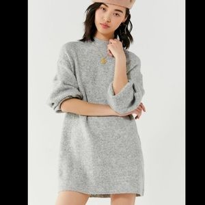 Urban Outfitters BDG Mock Neck Sweater Dress